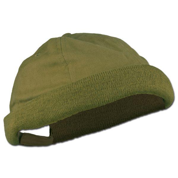 Bonnet marin vert olive