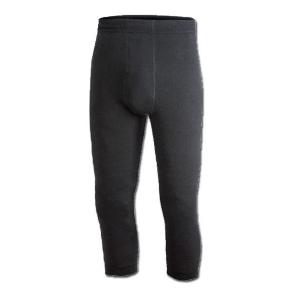 Sous pantalon Woolpower 3/4 200 g. noir