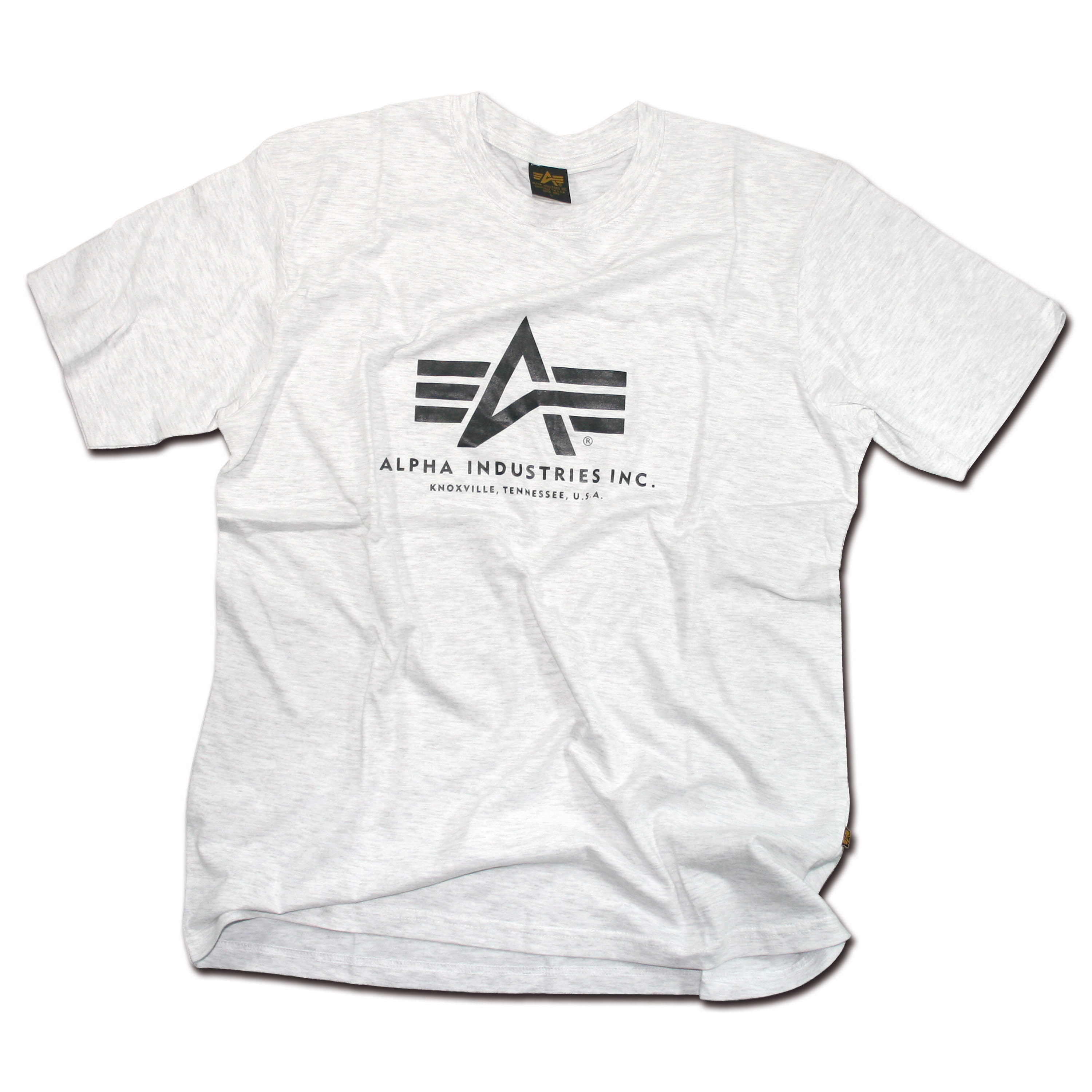 T-shirt Alpha Industries gris