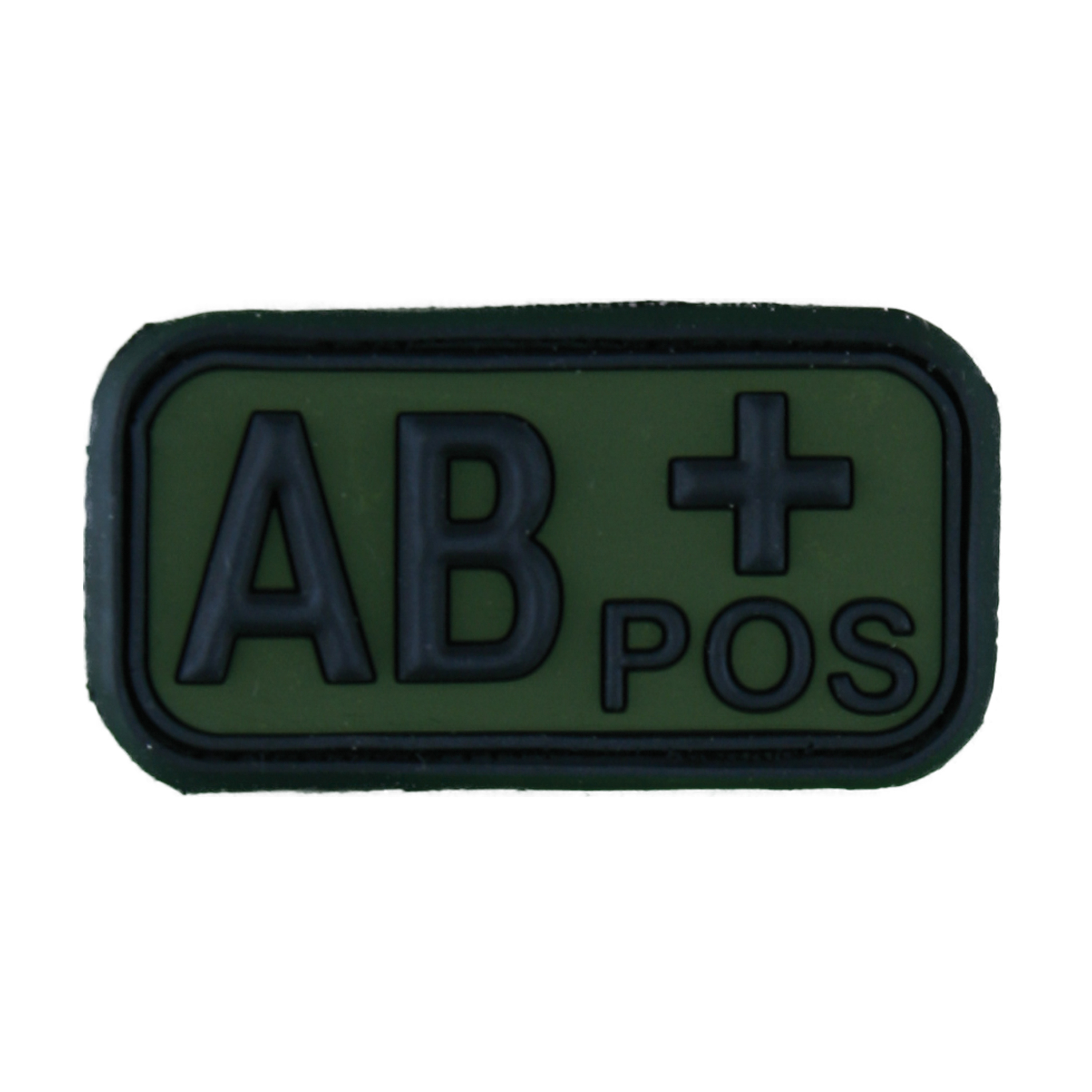 TAP Patch Groupe Sanguin 3D AB Pos forest
