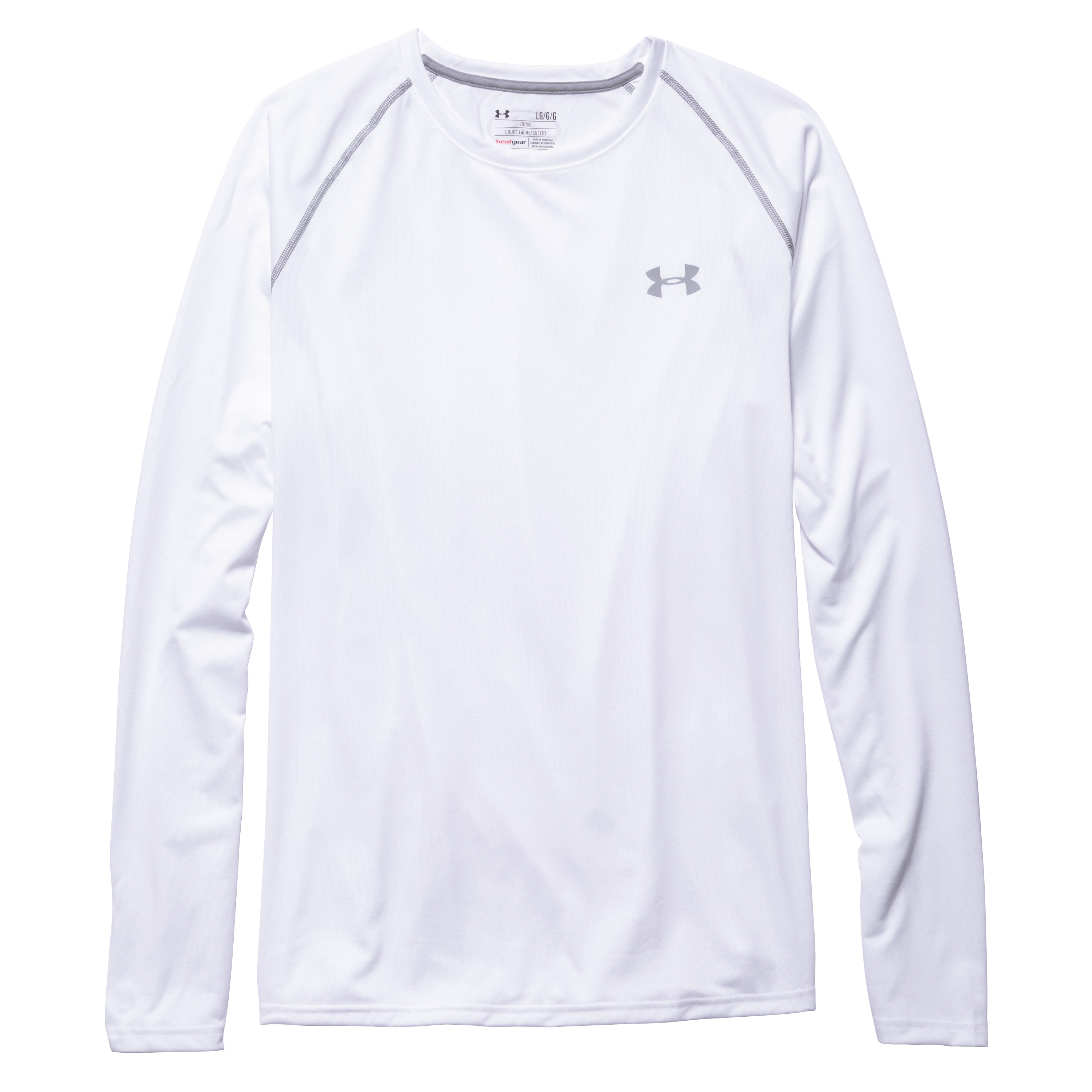 Shirt manches longues Under Armour I Will Tech Tee blanc