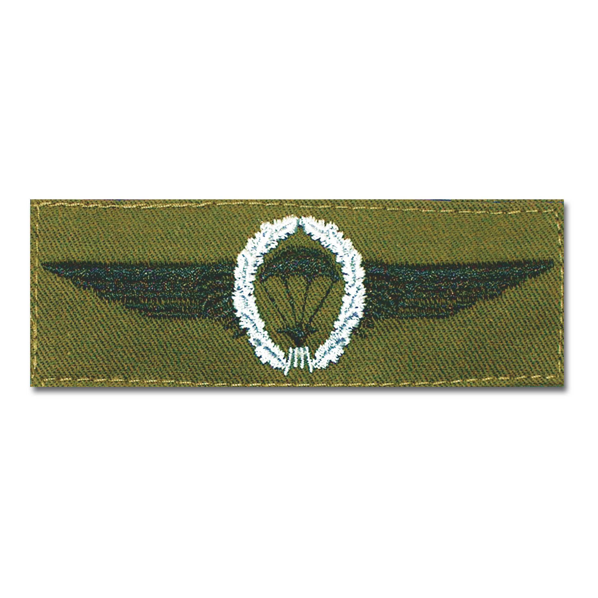Insigne Fallschirmspringer BW argent/vert olive