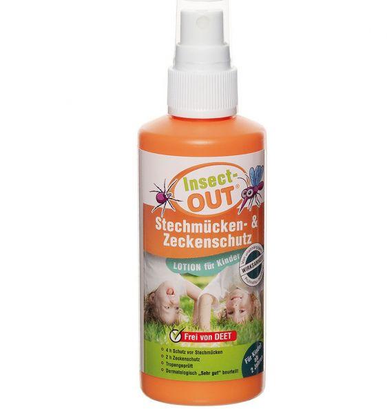 MFH Spray Insect-OUT moustiques et les tiques Enfants 100 ml