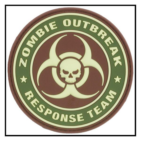 Patch 3D Zombie Outbreak Response Team multicam
