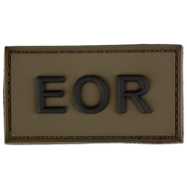 Patch 3D EOR - Explosive Ordnance Reconaissance olive/noir