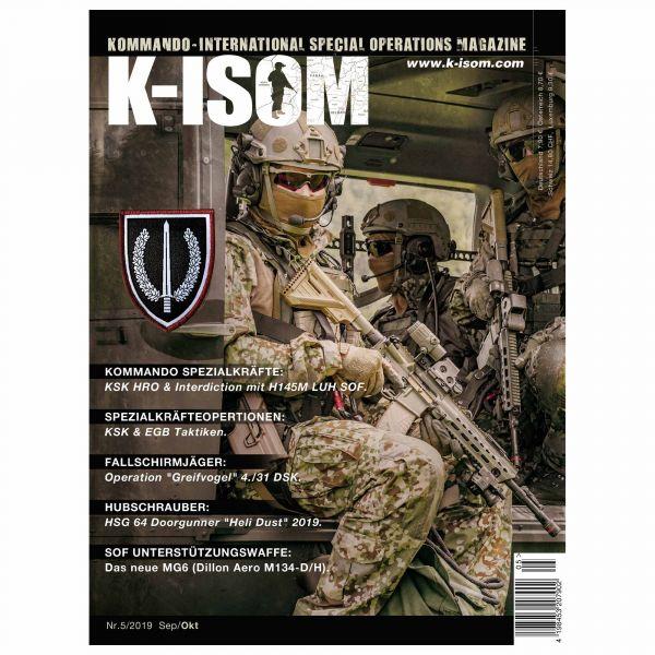 Magazine Commando K-ISOM Édition 05-2019