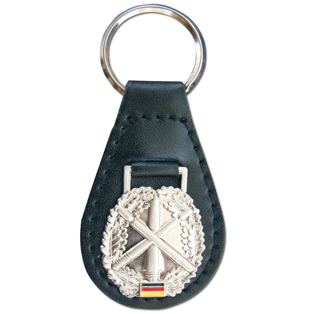 Porte-clés avec Insigne de Béret Heeresflugabwehr