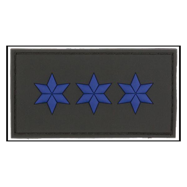 Patch 3D Grade Polizeiobermeister noir