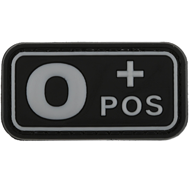 Patch 3D groupe sanguin 0 Pos TAP swat