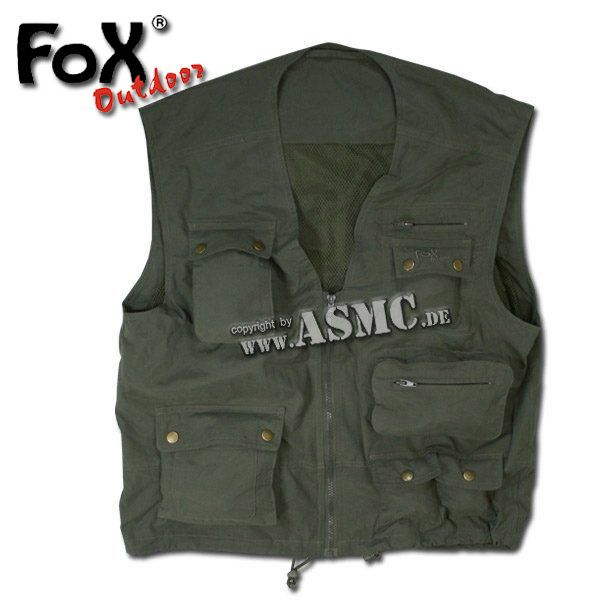 Gilet Outdoor olive