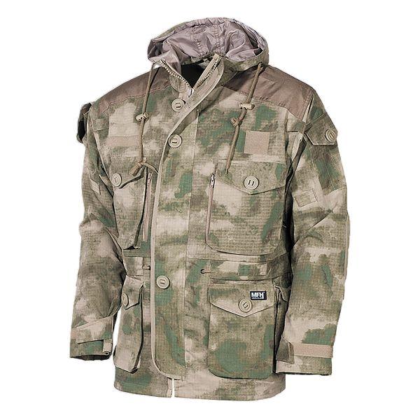 Veste Commando MFH Smock Rip Stop HDT-Camo FG