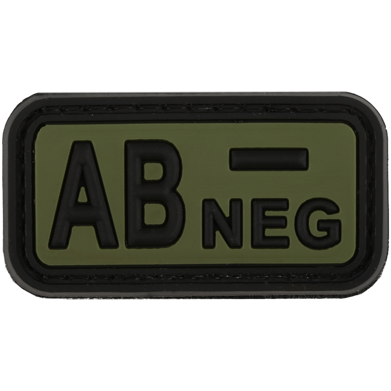 TAP Patch Groupe Sanguin 3D AB Neg forest