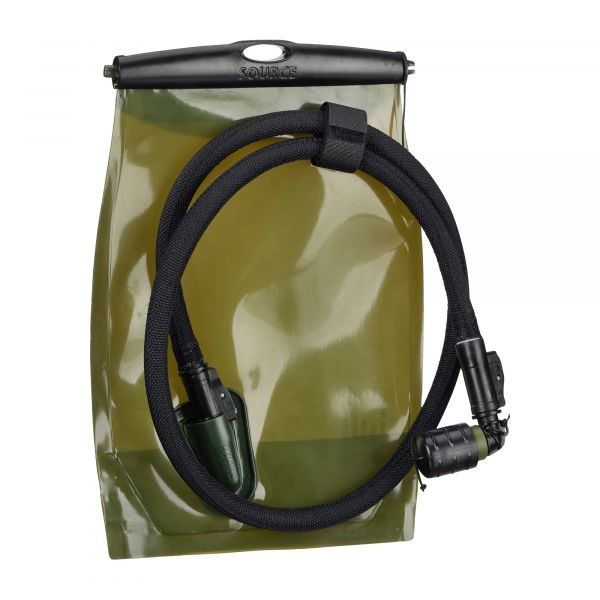 Source Poche à eau Kangaroo Canteen 1 L noir