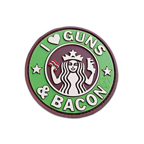 Patch 3D JTG Guns and Bacon multicam