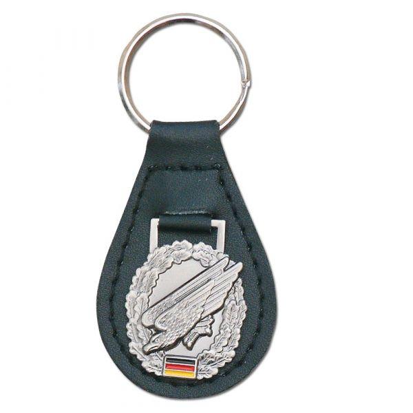 Porte-clés avec insigne de béret Fallschirmjäger