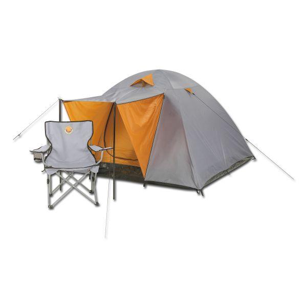 Tente Grand Canyon Phönix L grise orange