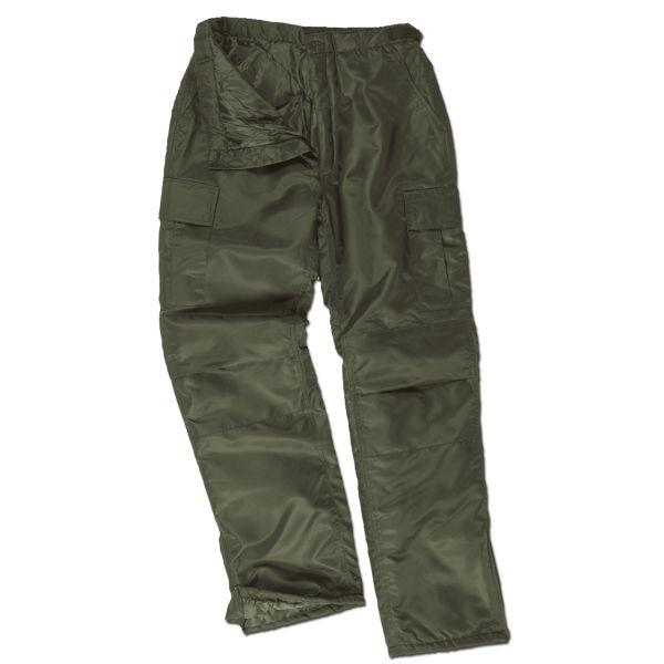 Pantalon BDU Nylon kaki version d'hiver