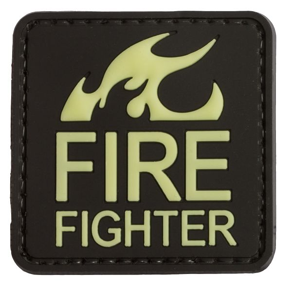 Patch 3D FIREFIGHTER TAP luminescent