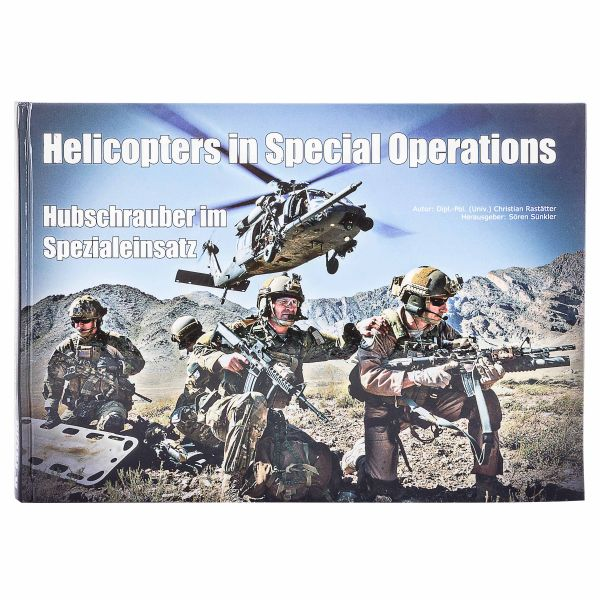 Livre Helicopters in Special Operations