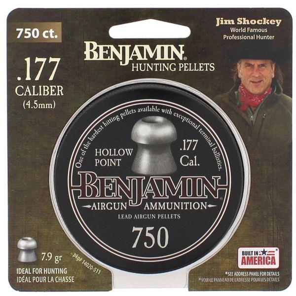 Benjamin Plombs Hollow Point 4.5 mm 750 pcs