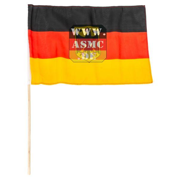 Drapeau mini Allemagne avec aigle