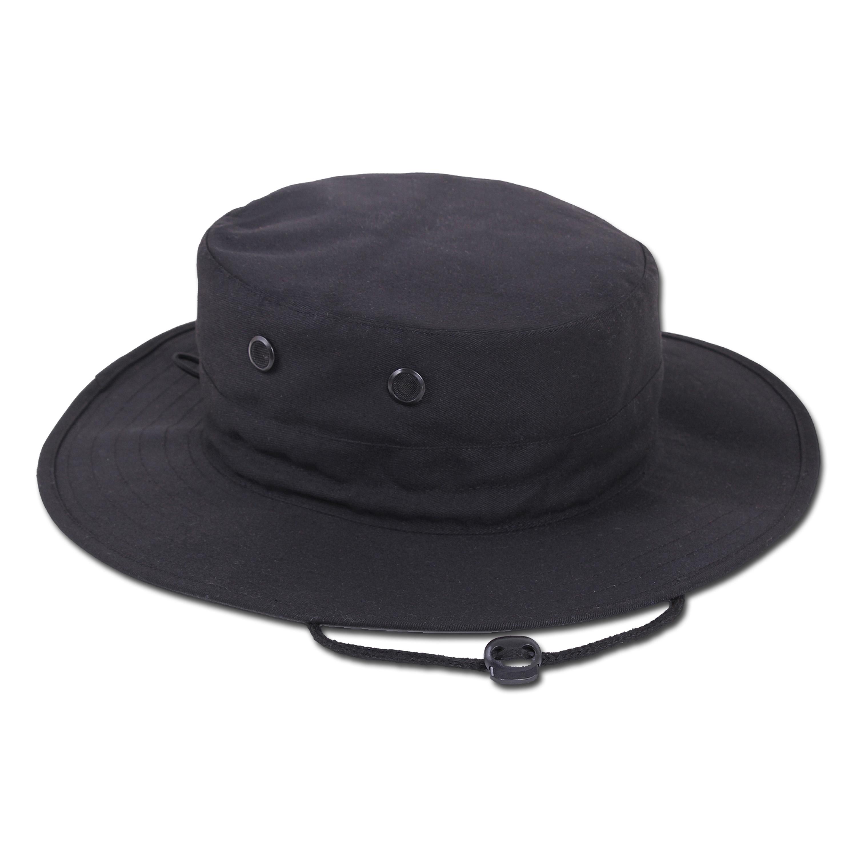 Boonie Hat Rothco Adjustable noir