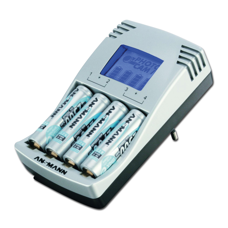 Chargeur à batterie Photocam IV Ansmann SET