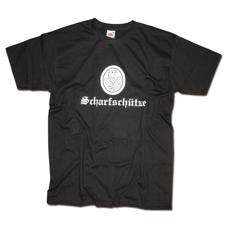 T-Shirt Milty Scharfschütze noir