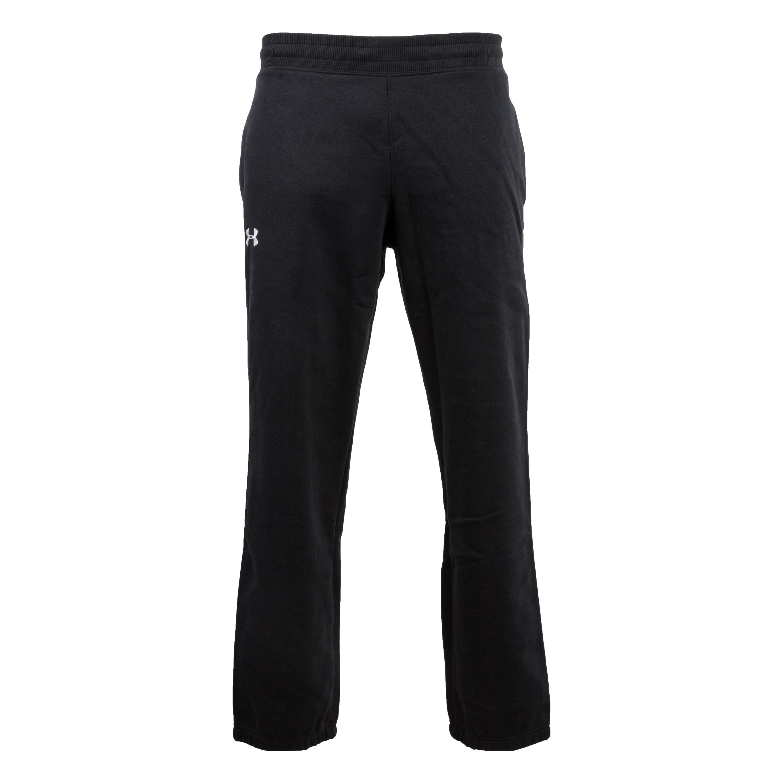 Pantalon à bords-côtes Under Armour Storm Cotton noir