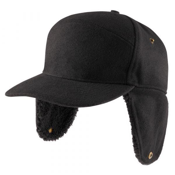 Brandit Bonnet Lumberjacket Wintercap noir