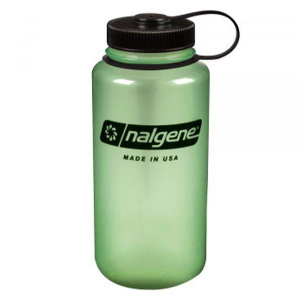 Nalgene Gourde large goulot 1 L vert luminescent