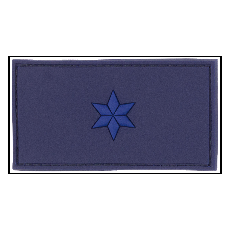 Patch 3D Grade Polizeimeisteranwärter bleu