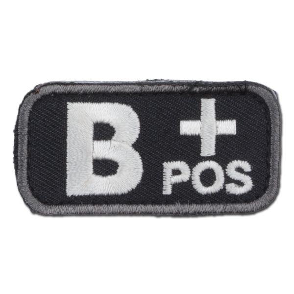 Patch MilSpecMonkey Patch groupe sanguin B Pos swat
