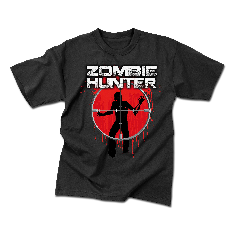 T-Shirt Rothco Zombie Hunter noir