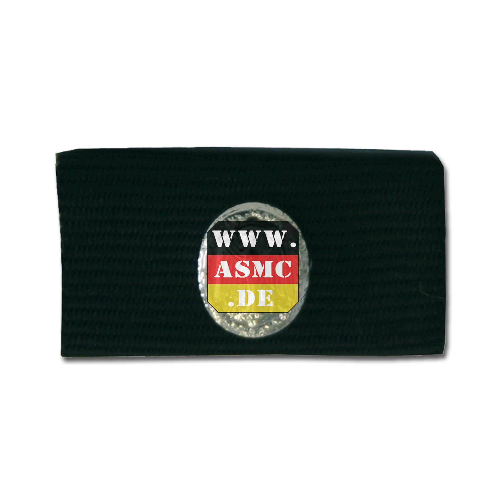 Insigne pin BW badge de compétence argent/noir