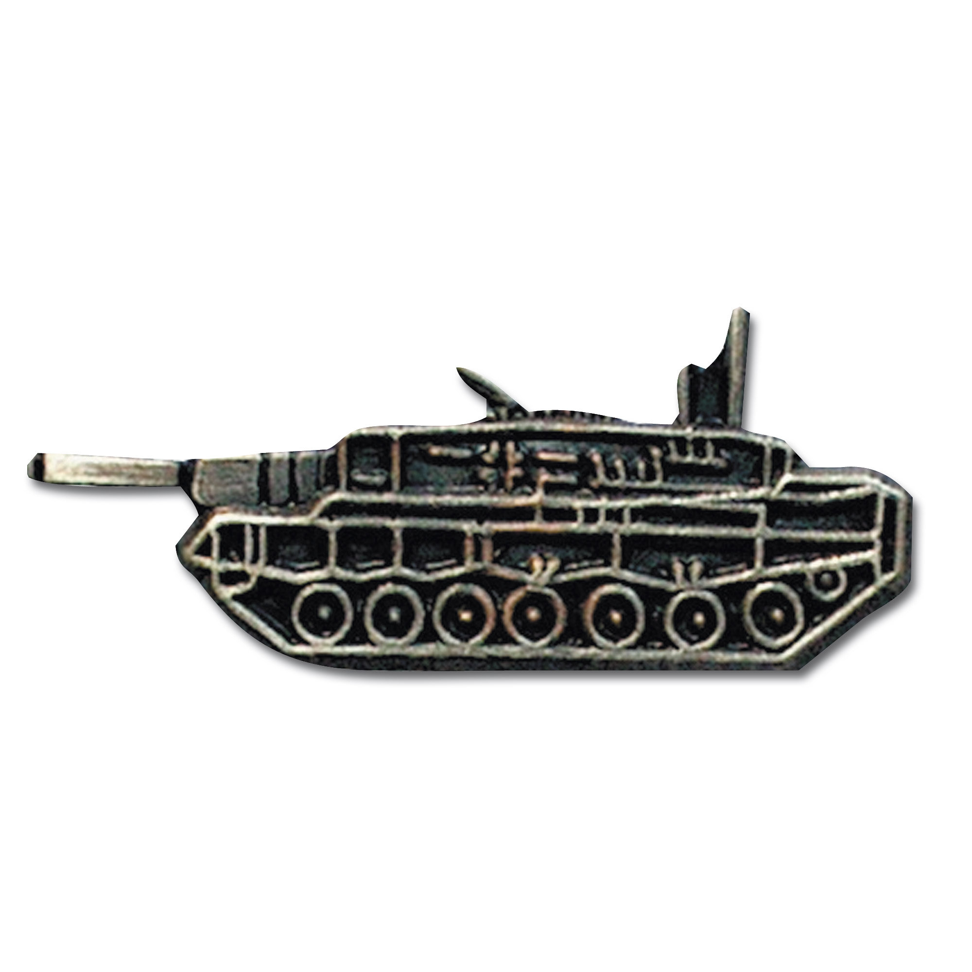 Pin mini métallique Leopard 2
