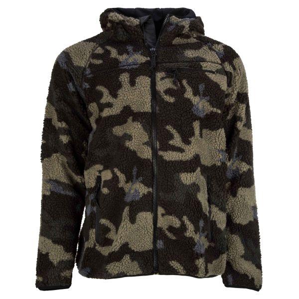 Brandit Veste Teddyfleece Worker Jacket darkcamo