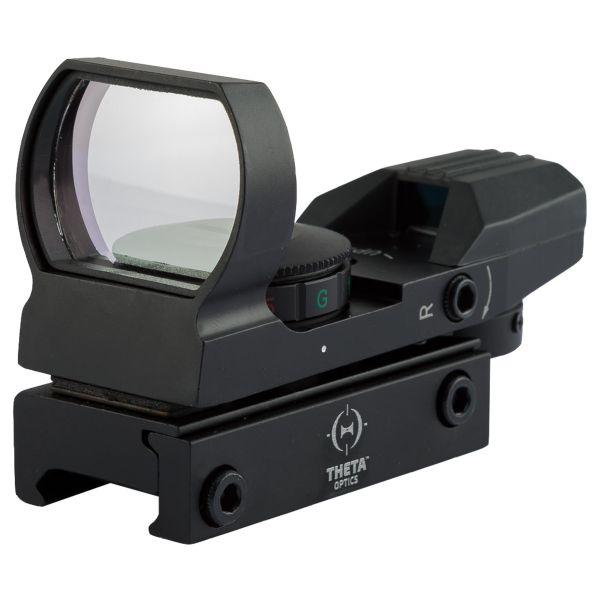THO Lunette de visée Open Reflex Red Dot Sight noir