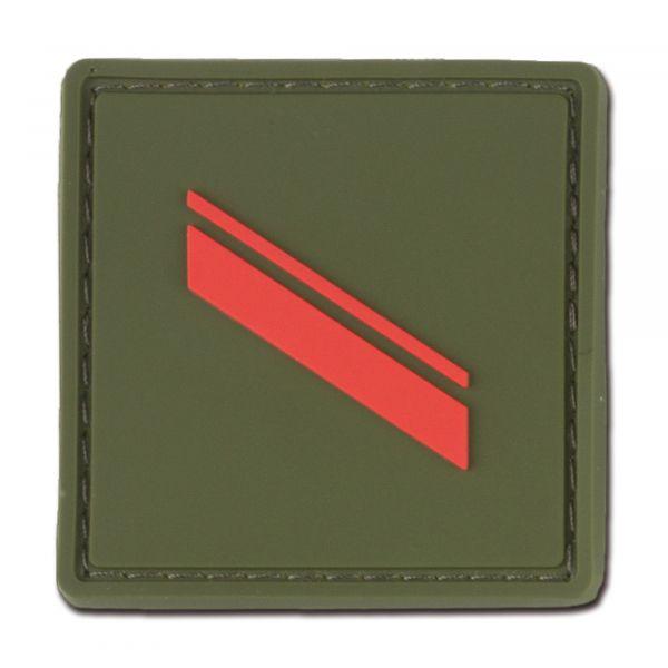 Grade Français Soldat de première classe kaki coloré