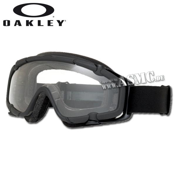 Masque Oakley S.I. Ballistic Goggle black/clear
