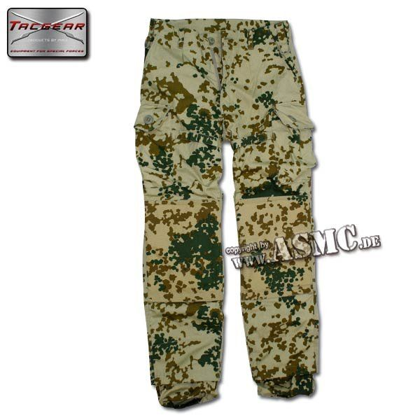Pantalon de combat KSK TacGear fleckdesert
