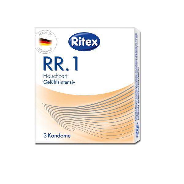 Lot de 3 Préservatifs Ritex RR.1