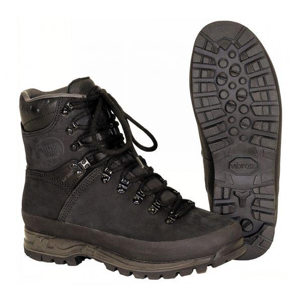 Meindl Chaussures de montagne hollandaises noir occasion