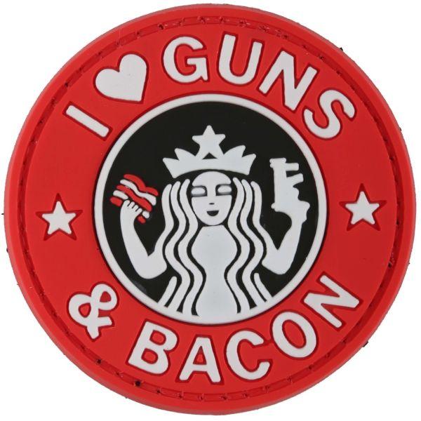 Patch 3D Guns and Bacon TAP couleurs vives
