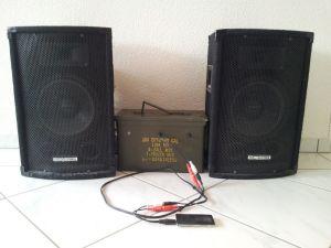 2x100W Audio Blaster