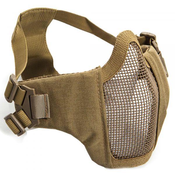 ASG Masque de protection grillagé métal avec rembourrage des jou