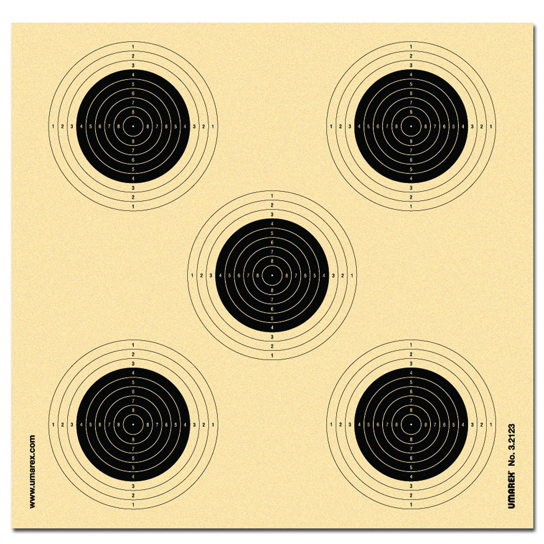 Cibles fusil à air comprimé Umarex 250 pièces