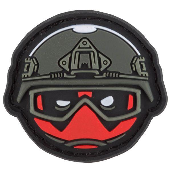 TacOpsGear Patch 3D PVC Tacticons Nr.43 No Hero Smiley Emoji