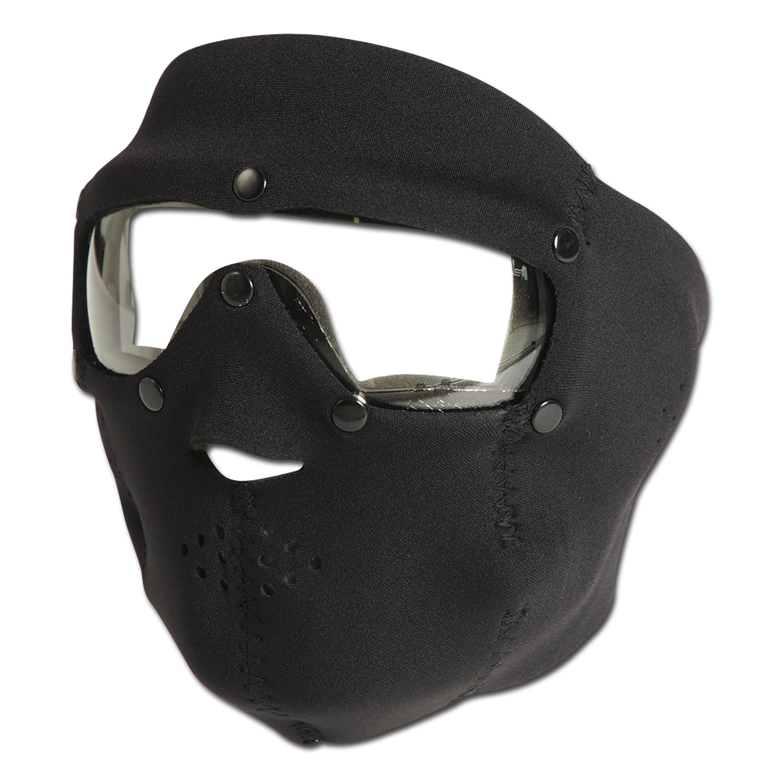 masque de protection noir