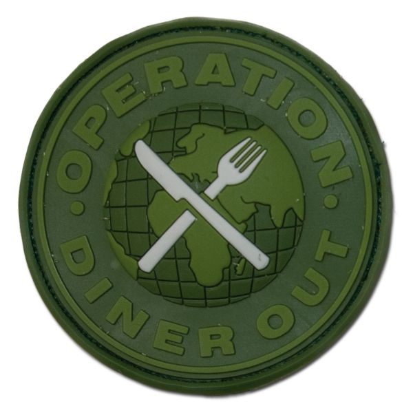 Patch 3D Operation Diner Out forest